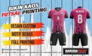 Pembuatan/pemesanan Jersey Full Printing Berbagai Desain di Melawi