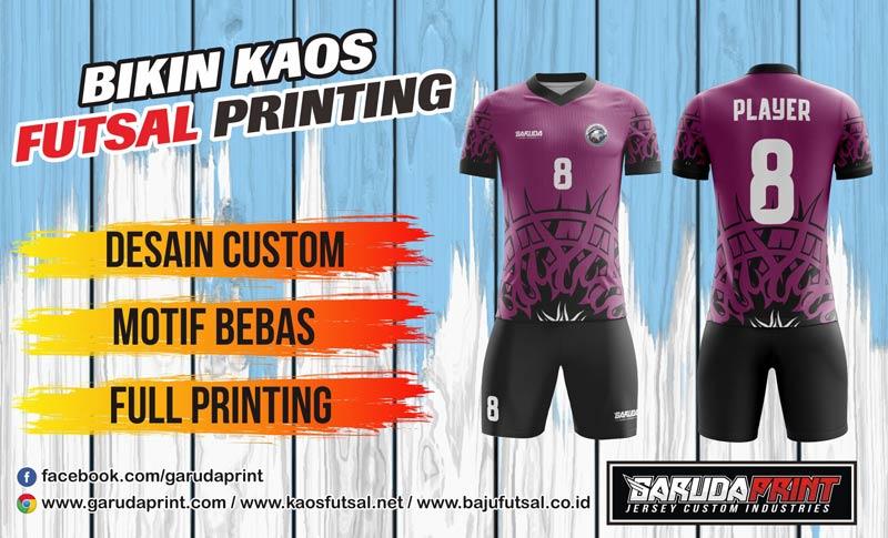 Pembuatan/pemesanan Jersey Full Printing Berkualitas di Kapuas Hulu