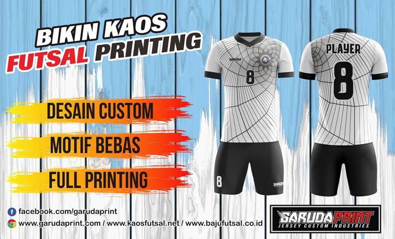 Pembuatan/pemesanan Jersey Full Printing Berkualitas Tinggi di Kayong Utara
