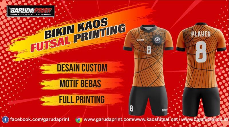 Pembuatan/pemesanan Jersey Full Printing dengan Harga Murah di Sanggau