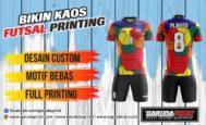Pembuatan/pemesanan Jersey Full Printing untuk Area Kubu Raya-Sungai Raya