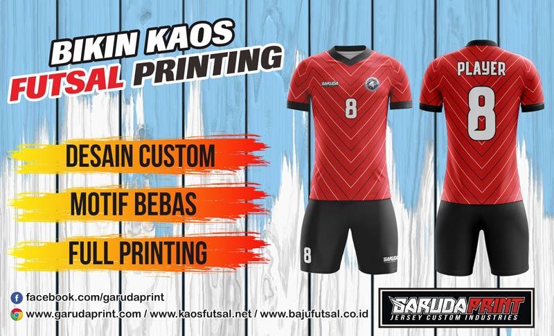 Pembuatan/pemesanan Jersey Full Printing untuk Wilayah Sambas-Pemangkat