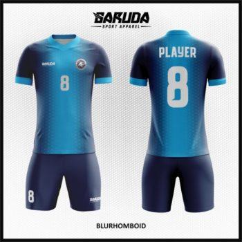 Desain Jersey Sepak Bola Kombinasi Warna Biru Yang Serasi