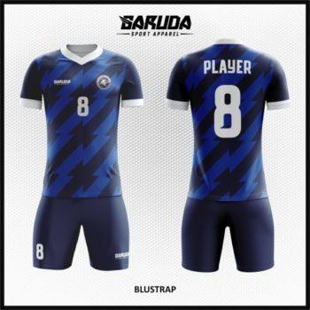 Desain Seragam Sepakbola Printing Warna Biru Yang Memikat Hati
