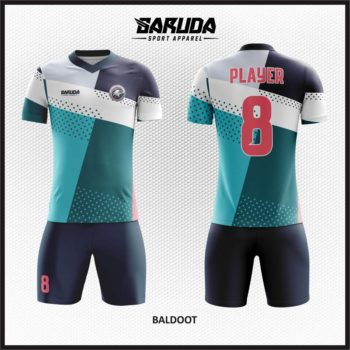Desain Kostum Futsal Full Print Motif Zigzag Yang Keren
