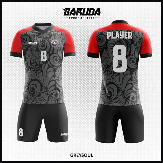 Desain Baju Futsal Full Print Motif Batik Yang Menawan Dan Dinamis