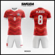 Desain Seragam Sepakbola Warna Merah Putih Yang Memukau