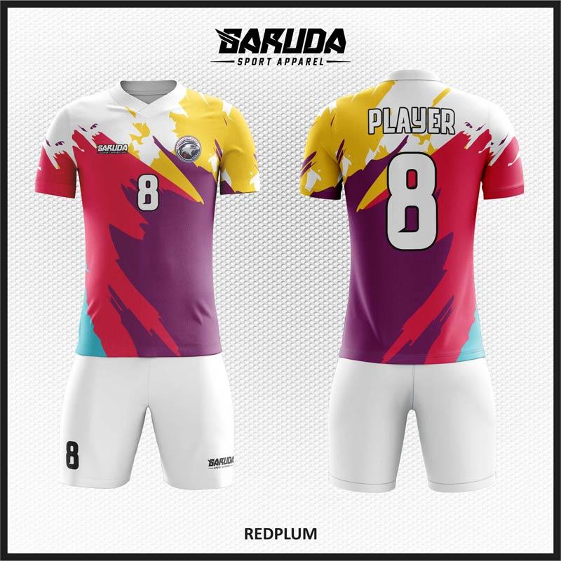 Desain Baju Futsal Full Print Motif Zig Zag Paling Keren