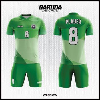 Desain Baju Bola Futsal Warna Hijau Yang Trendy