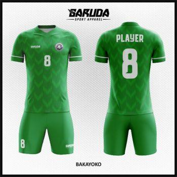 Desain Baju Bola Futsal Warna Hijau Paling Trendy