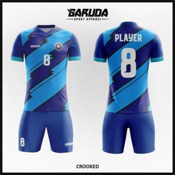 Desain Jersey Sepakbola Warna Biru Tampil Lebih Dinamis
