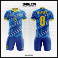 Desain Jersey Sepakbola Warna Biru Terbaru Tampil Elegan