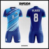 Desain Seragam Futsal Warna Biru Tampil Menawan