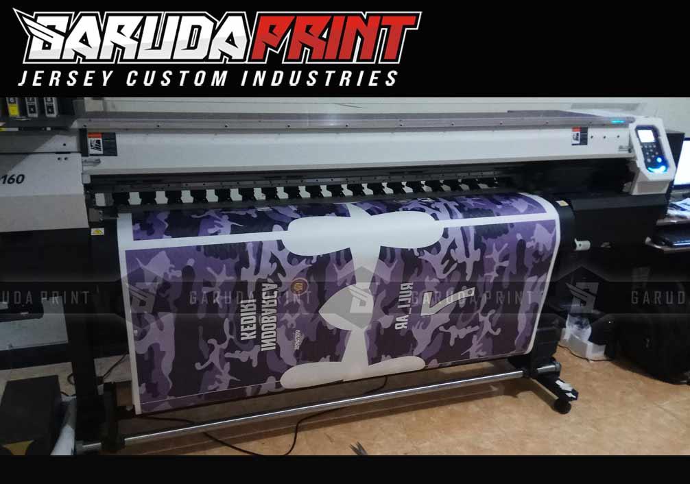 kaos futsal printing